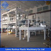 five layer co-extrusion high barrier packaging film lines/plastic product making machine/plastic film machine.