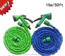 50FT Garden Water Pipe Flexible Expandable Hose Pipe Brass Connector Fittings 500ft Magic Hose With 9 Spray Nozzle Wholesale