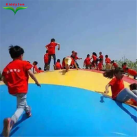 Funny and interesting farm use big inflatable trampoline inflatable bouncer for kids and adults