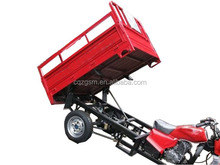 cargo three wheel motorcycle with dumper