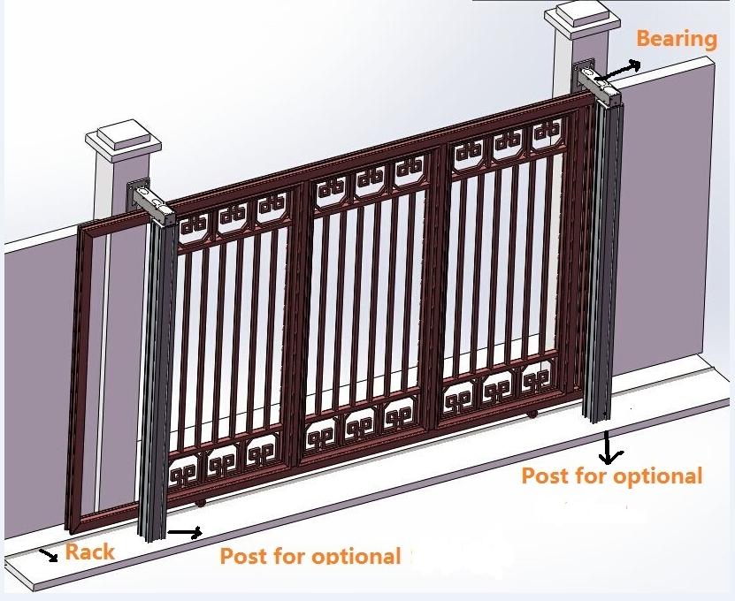 Latest main gate designs foshan cxoumei import export for Latest main gate designs