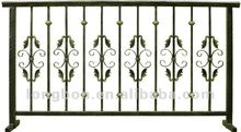 2015 Top-selling hand forged metal fence pole