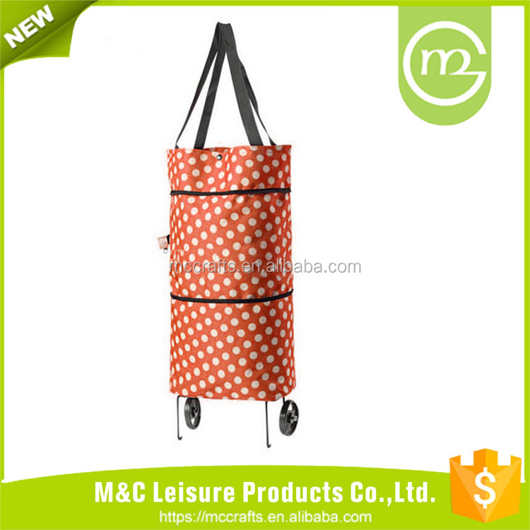 Top sale guaranteed quality shopping trolley paper bag