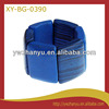2014 Fashionable unfinished elastic blue painted wide wooden bracelets