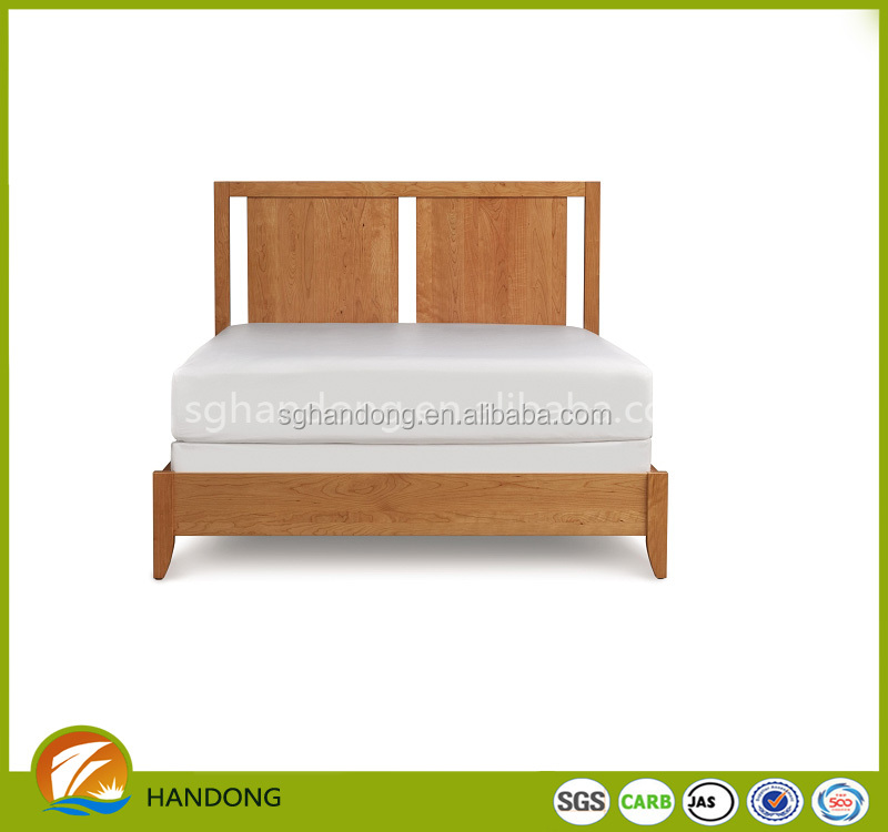 Modern Solid Wood Double Folding Bed Furniture Design