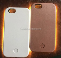 Selfie Led Case - Light Up Your Cell Phone Case For for iPhone 6 led Illuminated Cell Phone Case
