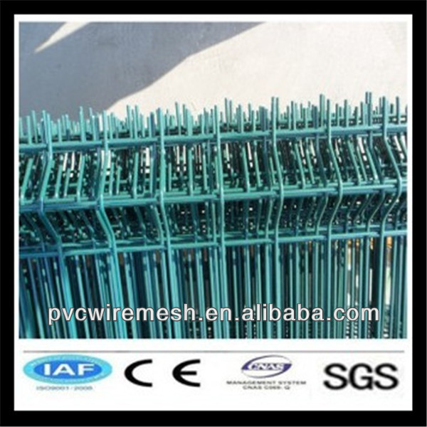 PVC Coated Green Wire Mesh Fence (Factory)