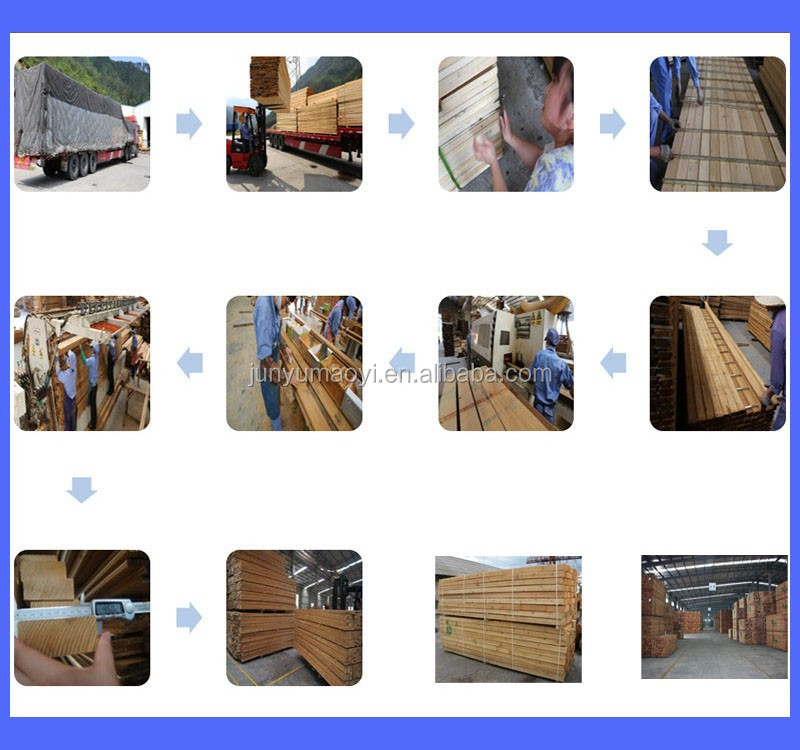 China pine wood lumber boards made in China for sale