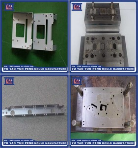 Yuyao Stamping die maker Precision Aluminum Die Casting/ Stamping Mould for Lamp/ Electronic/ Computer Parts