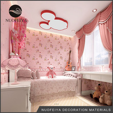 Wholesale Natural Custom modern decorative pvc wall paper for home