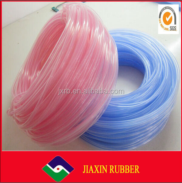 China wholesale hot sale manufacturer different size heat shrinkable silicone rubber tube