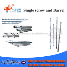 SKD Screw Barrel for Injection Molding/SCAM Single Screw Cylinder for Recycling Machine