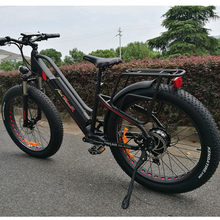 fat tire sport e-bike 500w 48v mountain electrical bicycle