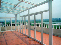 manufacture used aluminum tempered glass sunrooms green glass house