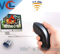 2.4G RF Wireless Mini Receiver wireless air presenter mouse for PC,rato ar,raton del aire