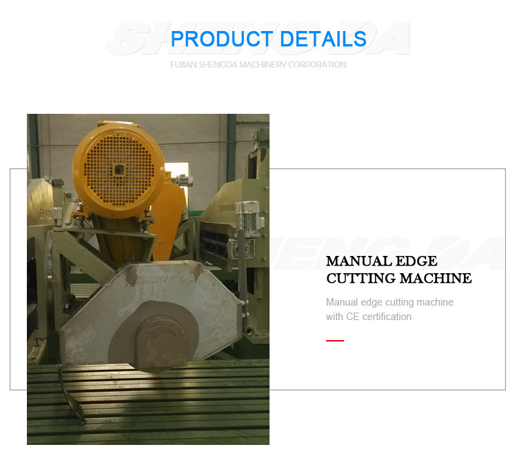 Manual edge profile machine marble and granite