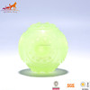 Pet Fetch Glow In The Dark Flying Squeaky Dog Toy Ball Thrower