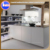 Zhihua high glossy acrylic flat pack modern kitchen cabinet for small kitchen design