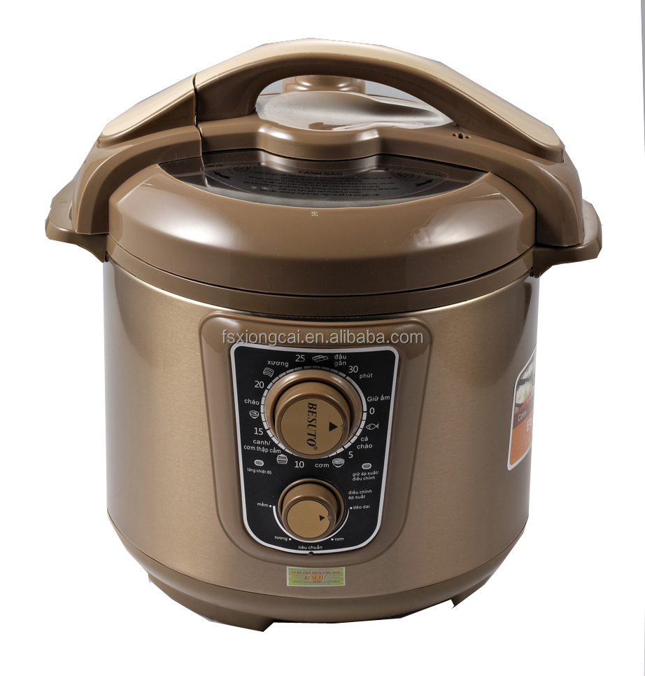 2016 lastest commercial electric stainless steel pressure cookers