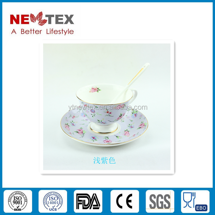 Bone China Coffee cup and saucer