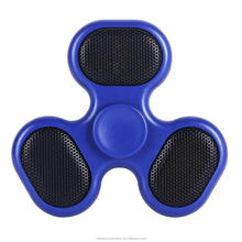 Fidget BT Wireless Spinner speaker with LED light & TF card Player Wireless Music Fingertips Gyro Spinning Decompression Toy