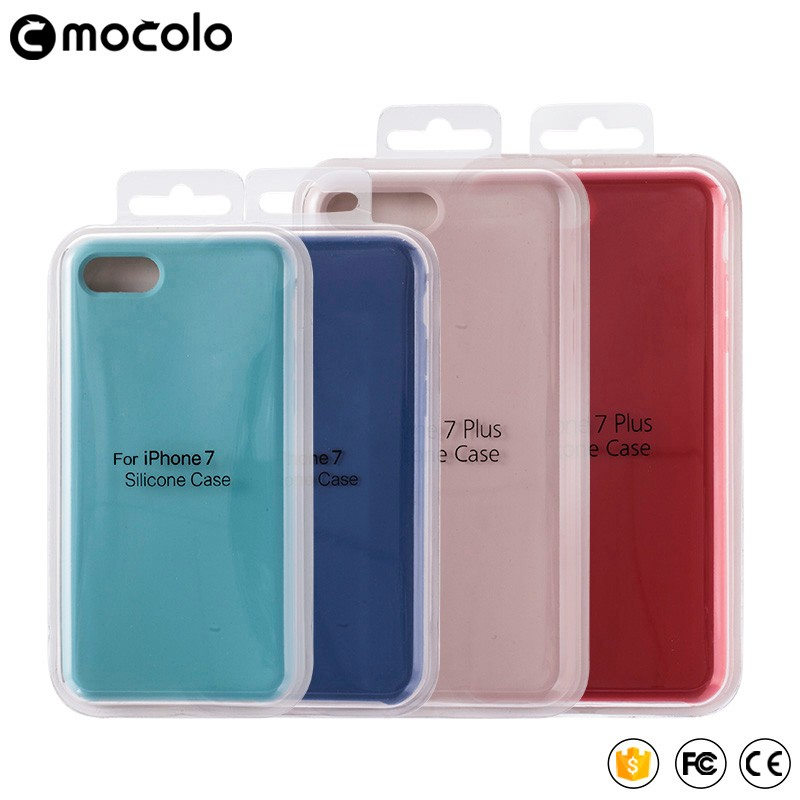 China mobile phone accessories Christmas gift silicone back cover cell phone soft case Liquid silicon bumper for iphone 7