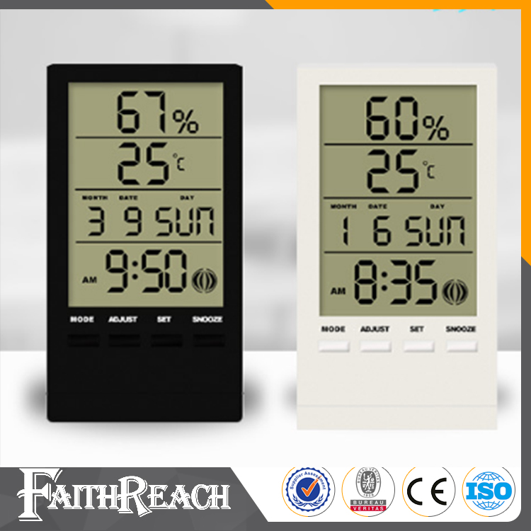 Multi-purpose Digital clock with humidity, temperature and time fucntion