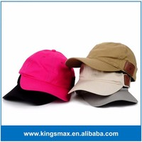 Adjustable Rechargable Music Cap Colorful Leather Cover Wireless Headset Baseball Cap
