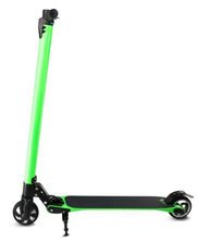 self-balancing adult kick scooter foot kick 2 wheel electric folding scooter with suspension shocks
