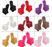 Colorful Wrinkle chair covers, elastic chair cover, chair cover for wedding and banquet