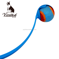 Yangzhou Yingte Pet dog chew toy throw tennis ball toy with long handle