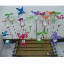 Garden Decoration Fluorescence Ball Garden Animal With Pole Factory