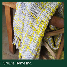 Hot sale woven throw blanket