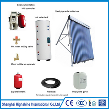 Factory price Shentai pressurized solar hot water system High Quality Pressurized Split Solar Water Heating System Certificated