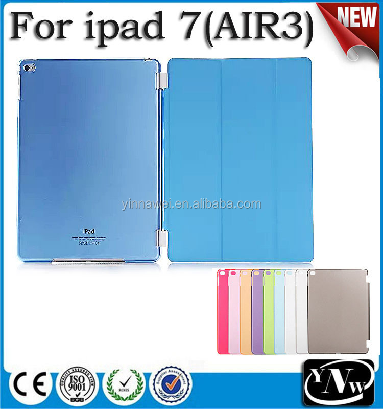 Smart Cover Companion Hard Back Case Cover for New iPad 7,for New iPad air3