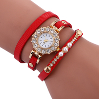 Fashion OEM Women Leather Bracelet Watches Luxury Lady Dress Quartz watch BWL413