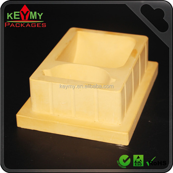 Plastic blister packing mould, different shapes sizes colours plaster moulds for blister tray and clamshell