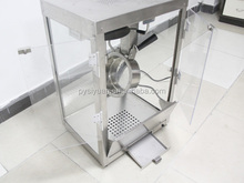 Commercial Popcorn Machine/Organic Glass Cabinet Window Commercial Popcorn Machine