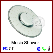 white color generation 2 music shower head