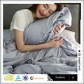 Skin-friendly breathable bamboo bedding set/organic bamboo bed sheets