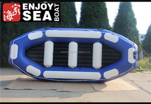 4.3m best quality sailing inflatable rafting boat 10 person!