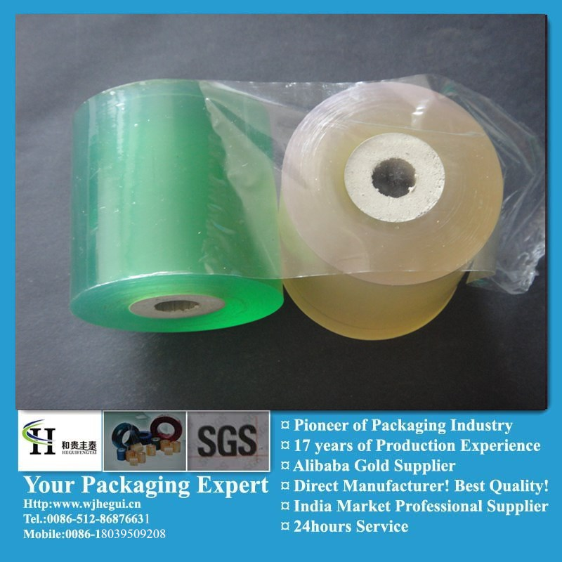 plastic wrap heat shrink protective film for hot water plum provide by manufacturer