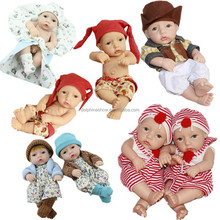 High quality silicone reborn crying baby doll