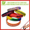 Give Away Customized Design Silicone Wristband
