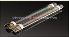 Electrical-thermal coated quartz tube for kinds of low power heating purpose