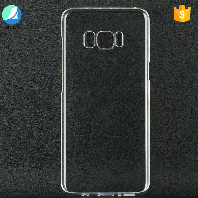 Newest ultra thin tpu transparent mobile phone case for samsung galaxy s8