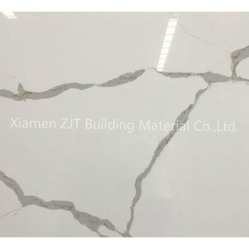 Top Quality White Calacatta Artificial Stone Quartz