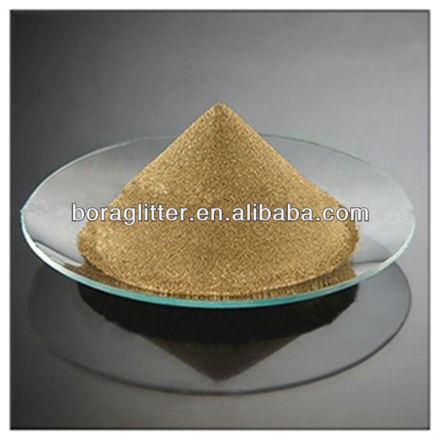 Glossy bronze flash powder ~cosmetic pearlescent pigment
