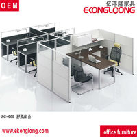 glass office partitions/office cubicle workstation