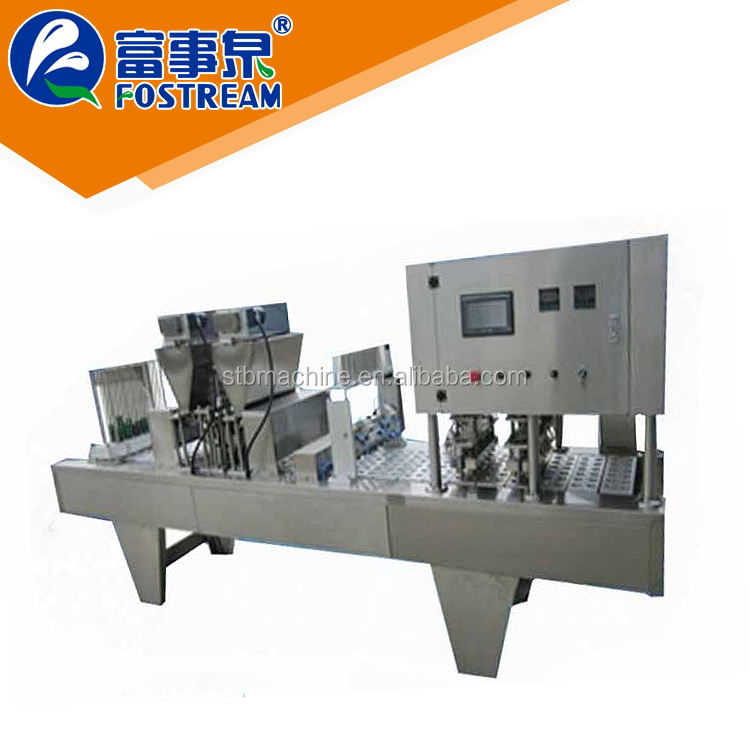 Good price factory supply cup sealer machine suppliers malaysia/cup filling equipment